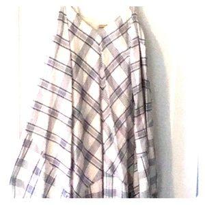 Light summer dress or beach cover up...Linen
